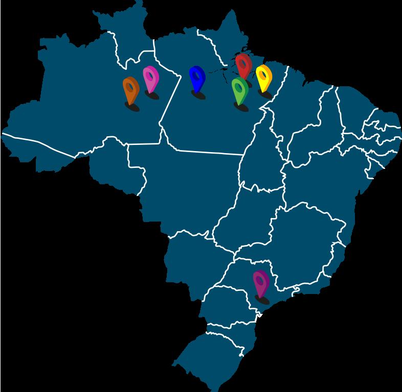 Imagem de um mapa